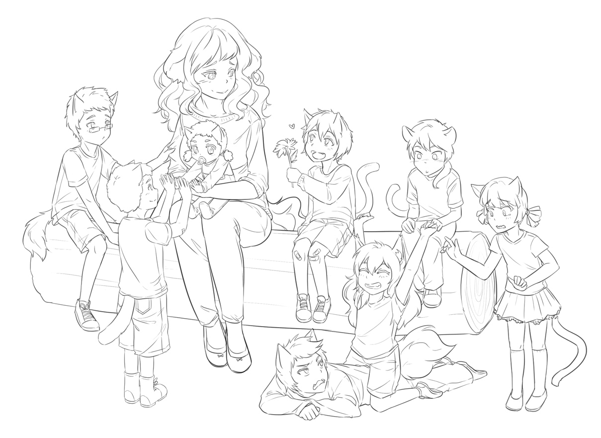 So many kids omg